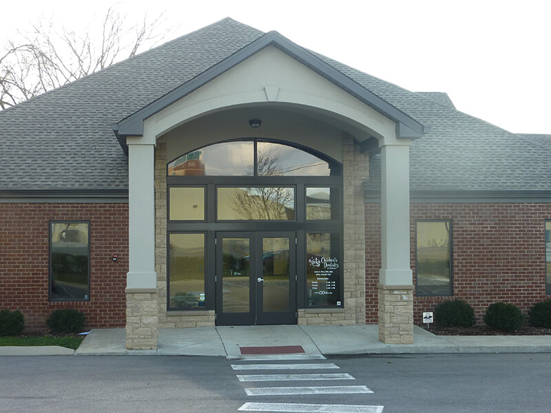 Front of Building - Pediatric Dentist in Gallatin, TN